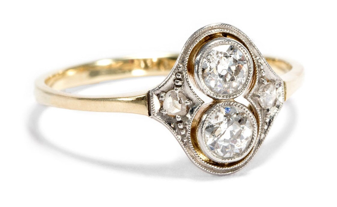 antique engagement rings 9