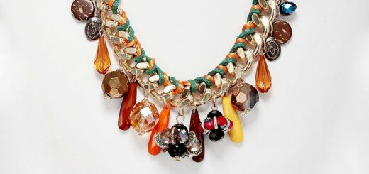 chunky necklace 16