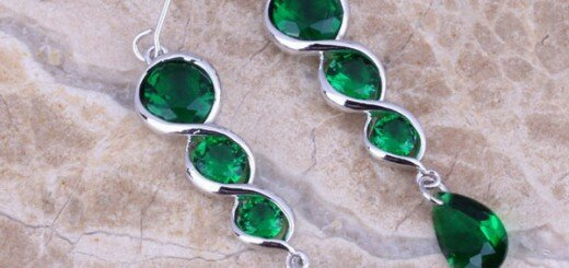 designs of emerald earrings 1