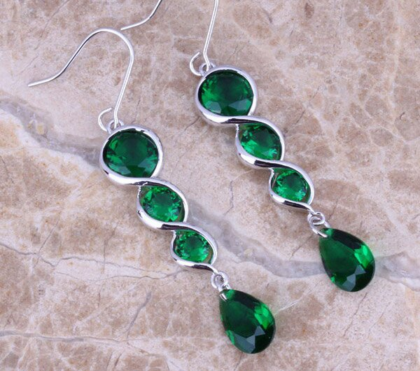 Top 15 Designs Of Emerald Earrings | MostBeautifulThings