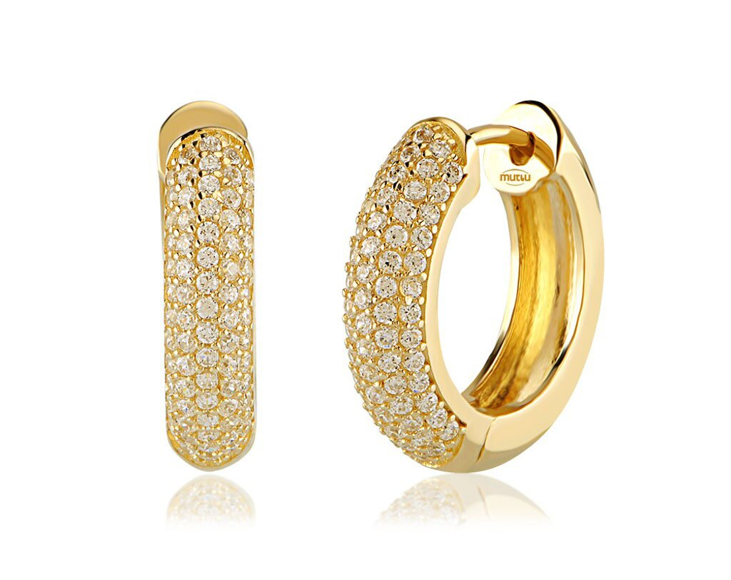 15 Fashion Gold Earring Designs | MostBeautifulThings