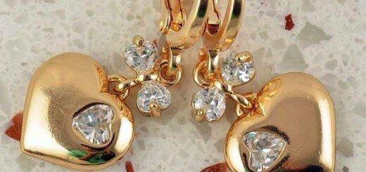 gold earrings for women 15