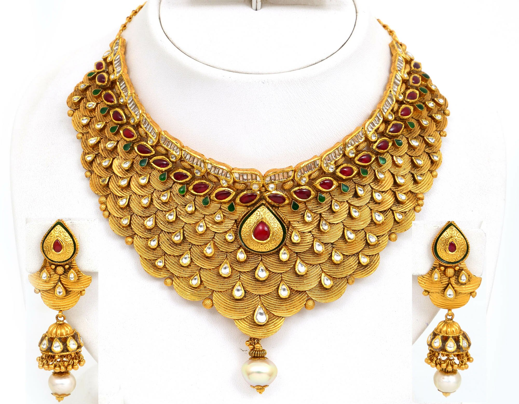 You Beautiful Gold Necklace Designs And Ideas In This Photo Gallery