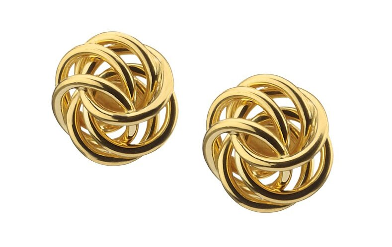 Really Beautiful Gold Stud Earrings In 15 Pics