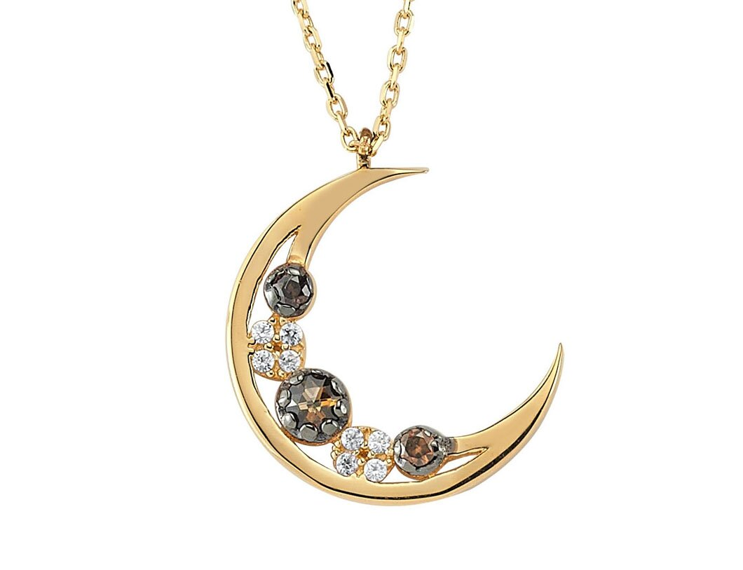 Top 14 moon necklace designs that you will like mostbeautifulthings