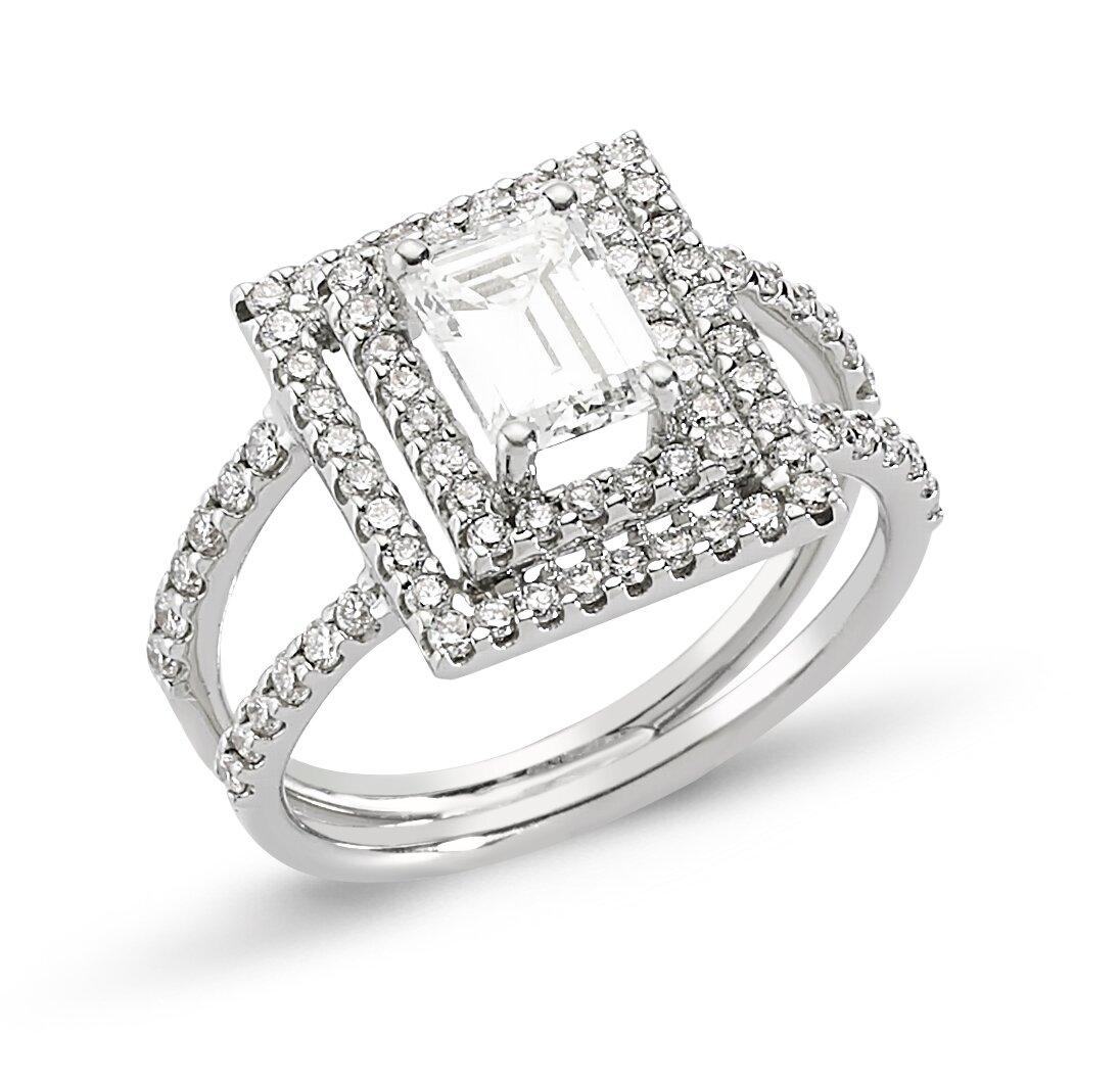 top 15 designs of princess cut engagement rings