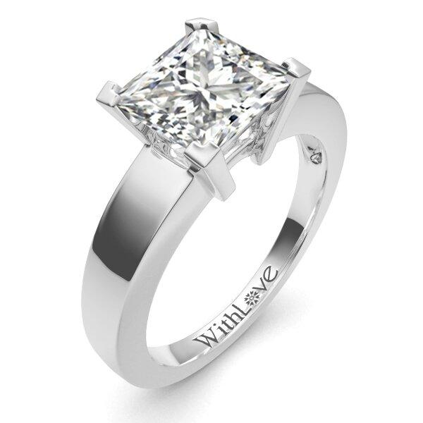 most beautiful princess cut engagement rings www imgkid