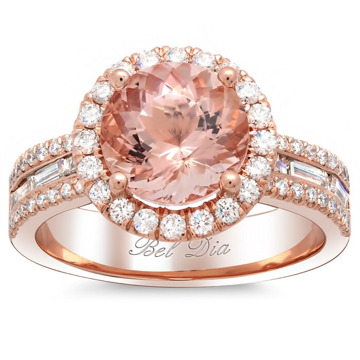 rose gold engagement rings 2