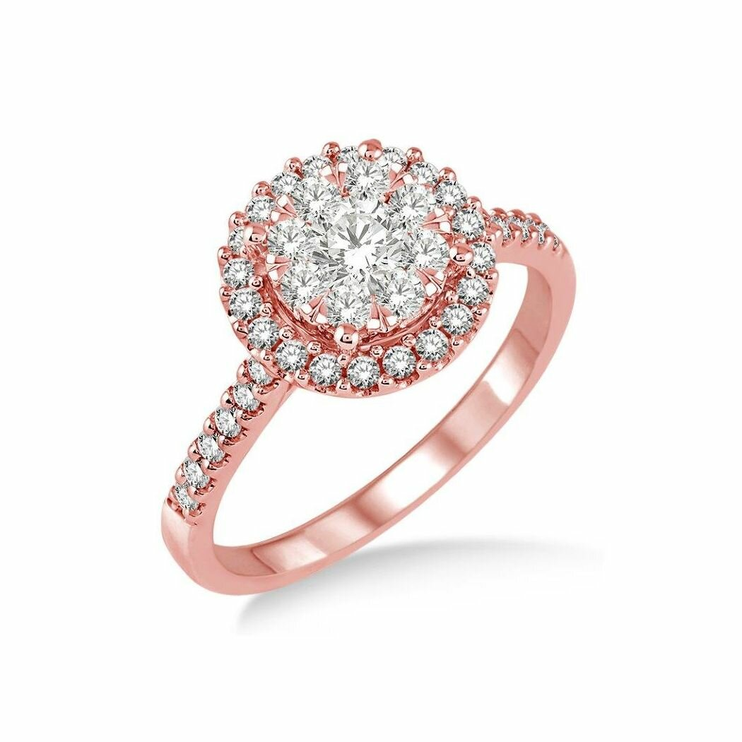 Beautiful Rose Gold Diamond Rings