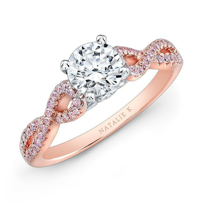 rose gold engagement rings 6