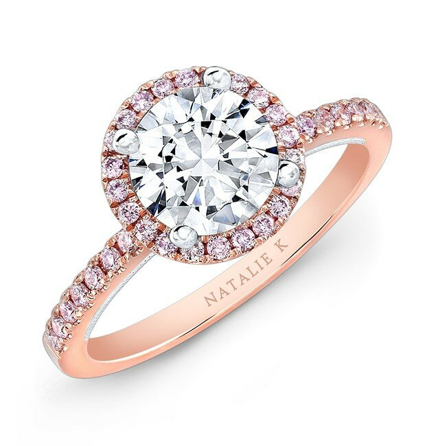 Top 14 Rose Gold Engagement Ring Designs