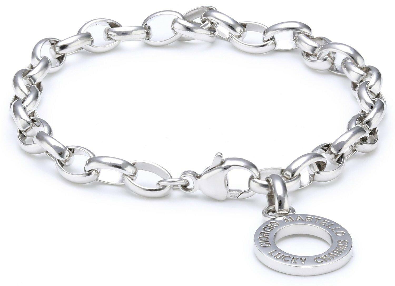 Silber handkette