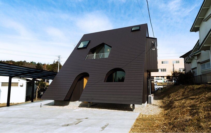 the 19 most interesting house designs mostbeautifulthings ForInteresting House Designs